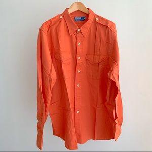 Men's Ralph Lauren XXL Nautical shirt with Patch